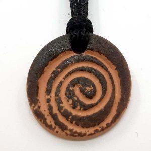 Diffuseur pendentif spirale noire