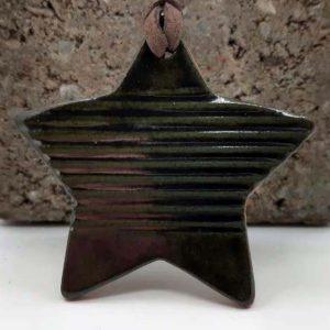 Diffuseur à suspendre étoile métallique