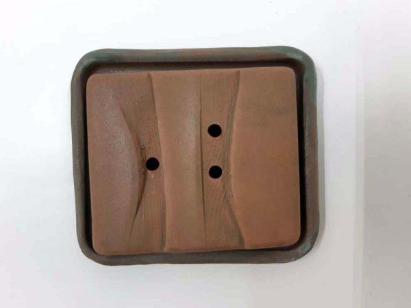 Porte-savon avec assiette